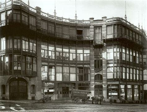 victor horta la maison du peuple brussels 1896 1899 demolished in 1965 arch space