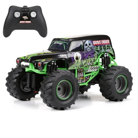 rc monster trucks grave digger new bright f f monster jam grave digger rc car 1 15 scale