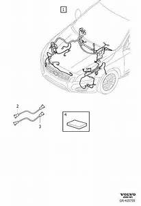 Volvo V60 Wiring Harness  Active Chassis  Cable Harness