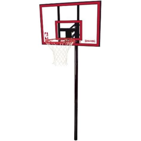 images  spalding  ground basketball hoops