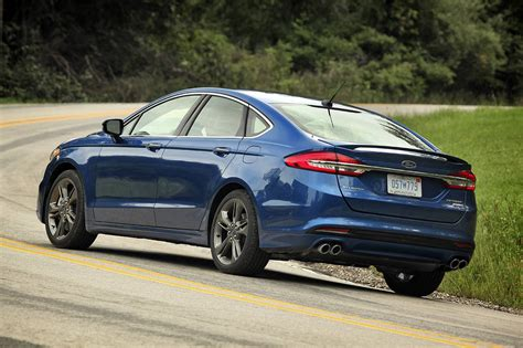 2017 Ford Fusion Sport Is Big On Power And Performance