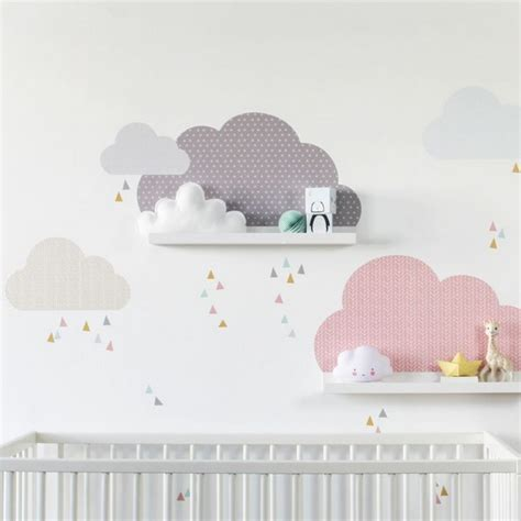 Babyzimmer Gestalten Wandtattoos by Babyzimmer Wanddeko