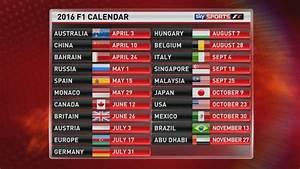 Grand Prix F1 2018 Calendrier : mundial f1 2016 calendario y circuitos ~ Medecine-chirurgie-esthetiques.com Avis de Voitures