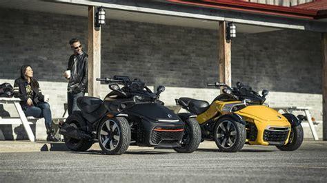 2018 Can-am Spyder Three-wheelers