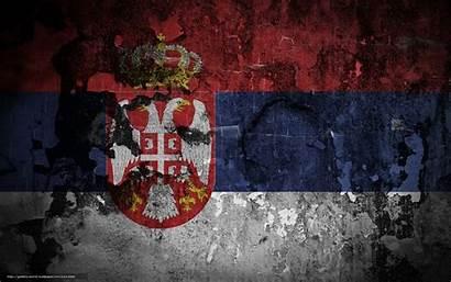 Serbia Serbian Flag Bandiera Coat Sfondi Gli