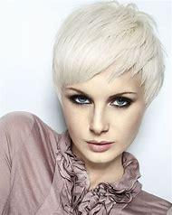 Very Short Blonde Hair