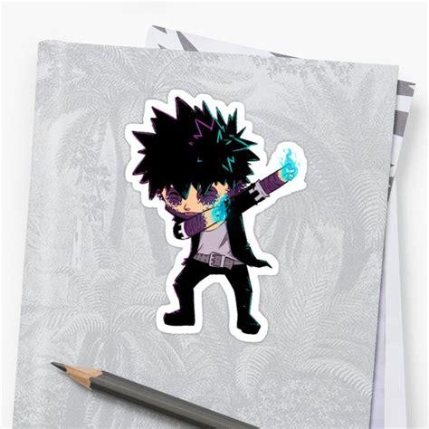 dab dabi sticker by susto in 2021 anime merchandise