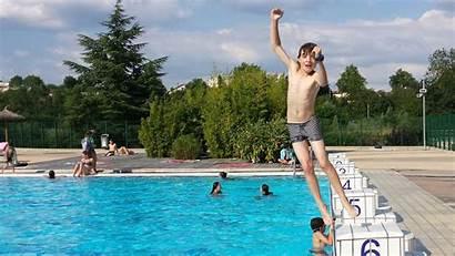 Pool Boy Swimming France Auxerre Speedo Go