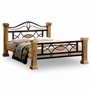 Bett 160x200 Holz : doppelbett aus massivholz ~ Indierocktalk.com Haus und Dekorationen