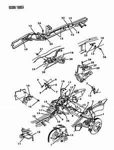 1995 Dodge Dakota Wiring  Wiring Assembly  Anti