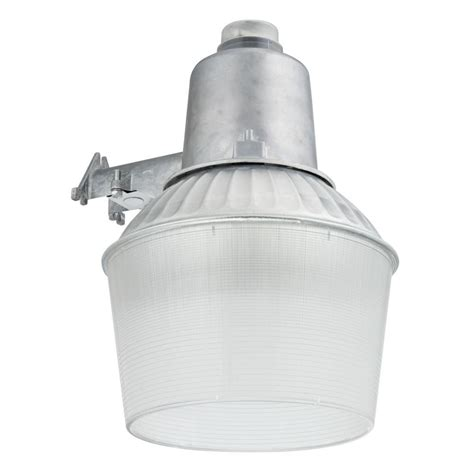 dusk to dawn light lithonia lighting 150 watt 1 light gray outdoor area light
