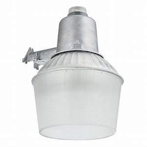 All Pro Led Dusk To Dawn Security Light Lithonia Lighting 150 Watt 1 Light Gray Outdoor Area Light
