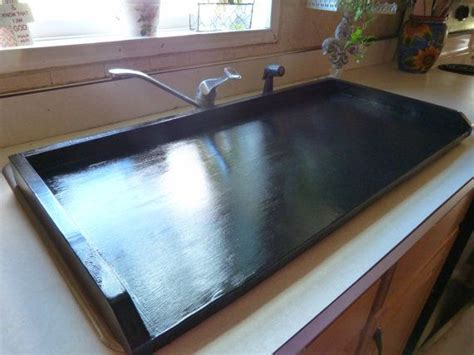 bathroom sink cover for extra counter space 1000 ideas about black sink on pinterest noodle board