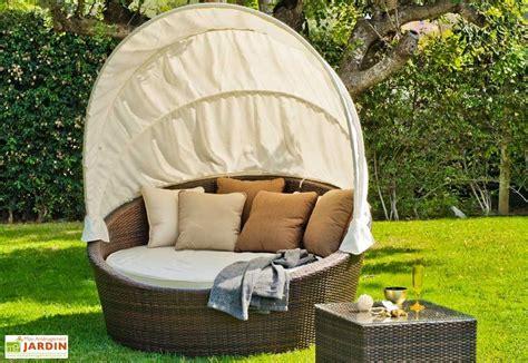 canapé ée 50 canapé lit de jardin en rotin synthétique avec matelas