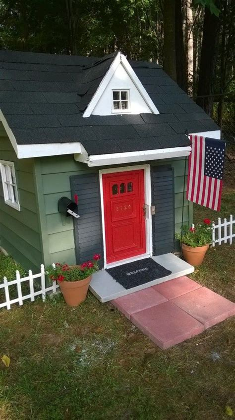 tiny house  playhouse makeover play houses