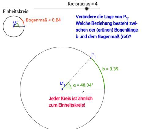 trigonometrie geogebra