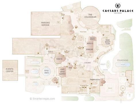 caesars palace floor plan caesars palace casino property map floor plans las