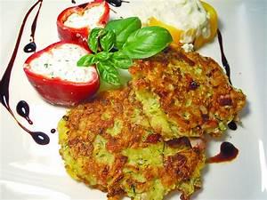 Kartoffel Kürbis Puffer : kartoffel zucchini schinken puffer rezept mit bild ~ Lizthompson.info Haus und Dekorationen