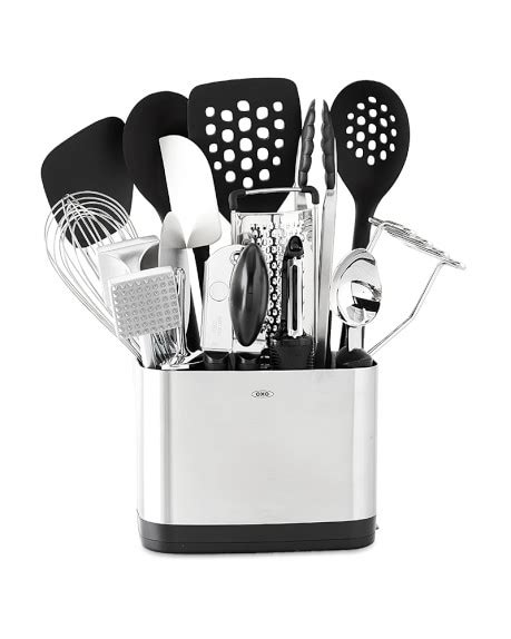 Oxo Steel 7 Barware Set by Oxo 15 Kitchen Tool Set Williams Sonoma