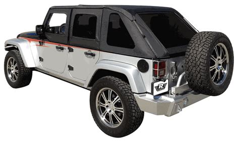 jeep frameless soft top all things jeep frameless sailcloth soft top with tinted