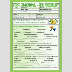 First Conditional  Interactive Worksheet