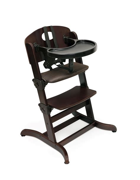 badger basket evolve wood high chair with tray by oj