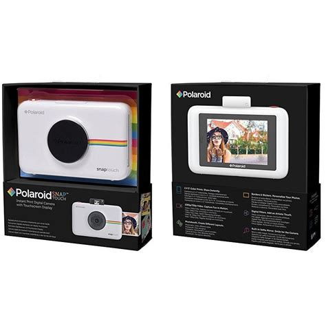 polaroid digital instant print polaroid snap touch instant print digital with lcd