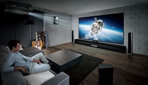 Get a projector and your family may never watch TV again