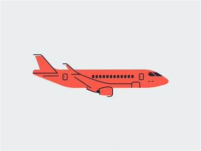 Flight Animated Dribbble Animation Graphics Graphic Around