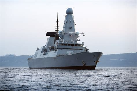 HMS Defender returns to Glasgow | Royal Navy