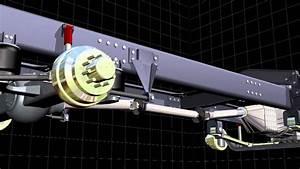 Truck Suspension 3d Animation
