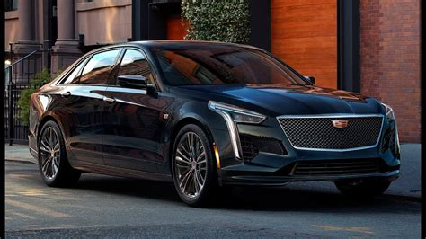 2019 Cadillac Ct6 V Sport  New Brand With Twinturbo V8