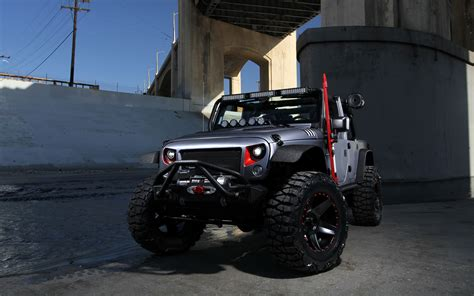 2016 Omix Ada Custom Jeep Wrangler Wallpapers