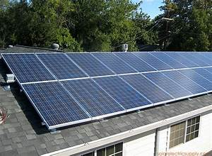 6 Kw Sharp Sloping Composition Roof Solar System