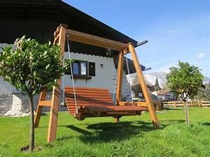 ferienhaus otztallodge otztal firma gastehaus hackl With französischer balkon mit garten relaxschaukel