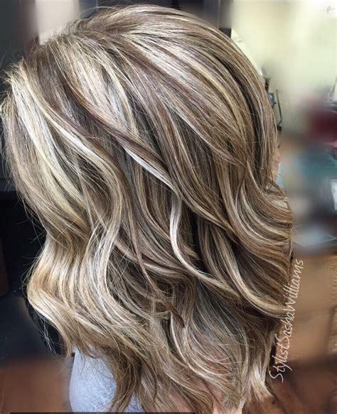 Highlights Lowlights Blonde Hair Blonde Hairstyles Dark