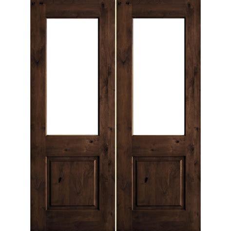 krosswood doors      rustic knotty alder wood