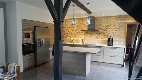 cuisine ancienne cuisine moderne dans maison ancienne maison design