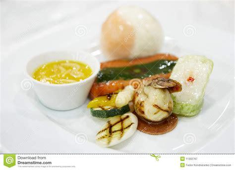 haute cuisine dishes haute cuisine dish stock image image of presentation