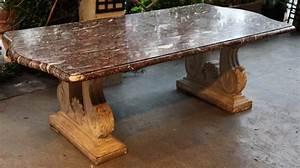 Table Plateau Marbre : table marbre et pierre 1940 ~ Teatrodelosmanantiales.com Idées de Décoration