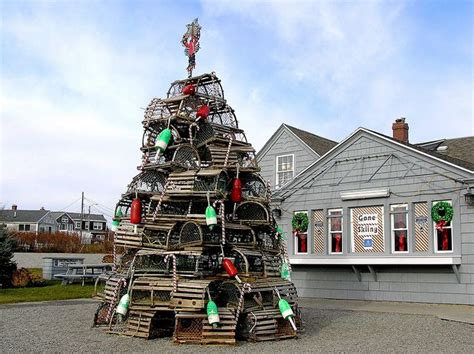 maine xmas lobster maine style town tree fox s lobster house york maine one of my favorite