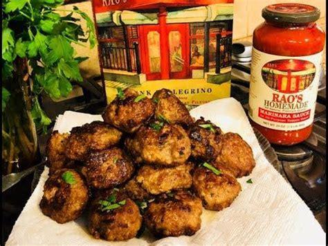 Rao's Famous Meatballs - YouTube | Best italian meatball ...