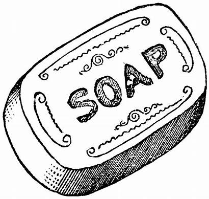 Soap Bar Clipart Drawing Soaps Hand Making
