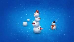 Snowman Cute Wallpaper