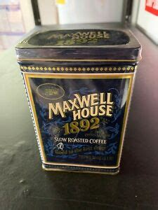 Be the first to review this place. NEW Maxwell House 1982 Slow Roasted Coffee Tin 100Year Anniversary Collector Tin | eBay