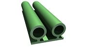 manufacturer of custom extruded silicone rubber profiles