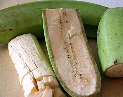 cuisiner les bananes plantain la banane plantain