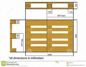 Dimension Palette Europe : euro pallet stock vector illustration of stack flat ~ Dallasstarsshop.com Idées de Décoration