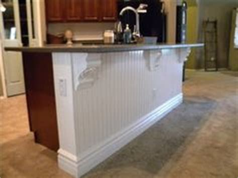 kitchen island beadboard 1000 images about wainscotting stairs on 1839