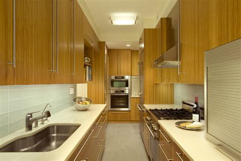 long cabinet pulls Kitchen Contemporary with ceiling